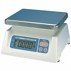 Digital Bench Scale, SS Pltfrm, 4.4 lb Cap