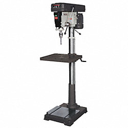 Floor Drill Press, 20  In, 1 HP, 120 V