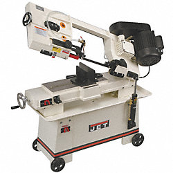 Horizontal Band Saw, Wet, 115V, 3/4 HP
