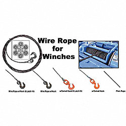 Winch Cable, GS, 3/8 In. x 35 ft.