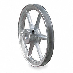 V-Belt Pulley, 14 In OD, 7/8 In Bore, 1GRV