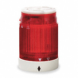 Tower Light Module Flashing, 230V, 50mm, Rd
