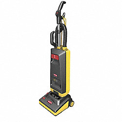 Upright Vacuum Cleaner, 15 In, 11A, 1.8 HP