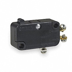 Snap Switch, 10A, SPDT, Pin Plunger