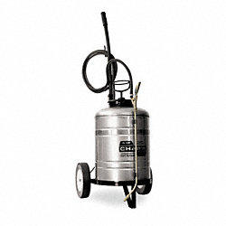 Cart Sprayer, 6 gal., Stainless Steel