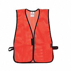 Hi Vis Vest, Unrated, Universal, Orange