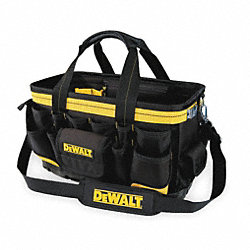 Open-Top Tool Bag, 18 W, 27 Pockets