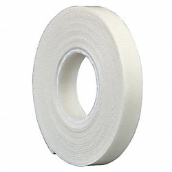 Double Coated Tape, 1 In x 5 yd., White