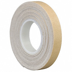 Double Coated Tape, 3/4 In x 5 yd., White