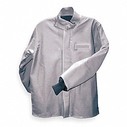 Flame-Resistant Jacket, Gray, M