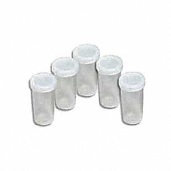 Solution Cups, W/Caps, PK 24