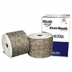 Absorbent Roll, 33 gal., 14-1/4 In. W, PK 2