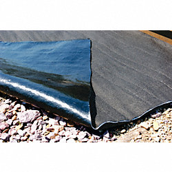 Rail Mat, Gallons Sorbed 78, Gray, PK2