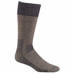 Outdoor, Socks, Over-Calf, Mens, L, Olive, 1Pr