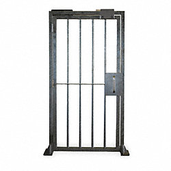 Man Gate, Left Hand, Steel