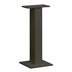Cluster Box Unit Pedestal, Black