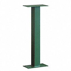 Mail Chest Pedestal, Green