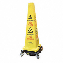 Floor Drying Cone Dolly, Black