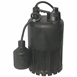 Pump, Sump, 1/3 HP