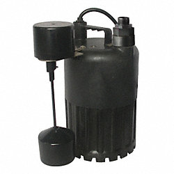 Pump, Sump, 1/2 HP