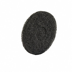 Scrubber Stripping Pad 7-3/4 In, PK 10