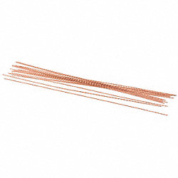 Wire, Copper Coated Steel, 10 in L, PK 100