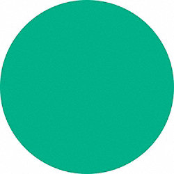 Green Dot Label, 3/4 In. W, PK 300