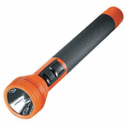 Flashlight, Rechargeable, Orange