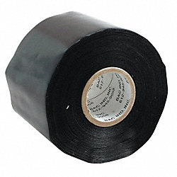 Tarp Tape, 3 In x 36 yd, 7.5 mil, Black