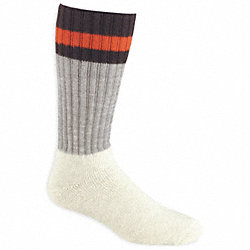 Outdoor, Socks, OverCalf, Mens, L, Gray, 1 Pr