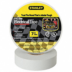 Electrical Tape, 3/4 x 66 ft., 7 mil, Gray