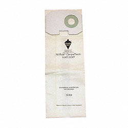 Vacuum Cleaner Paper Bag, 2 Ply, PK 10