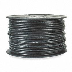Coaxial Cable, RG6/U, 18AWG, 500 Ft, Black