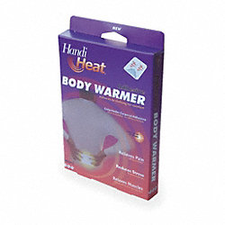 Adhesive Body Warmer, Pk 3