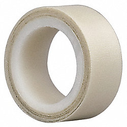 Cloth Tape, 3/4 In x 5 yd, 6.5 mil, White