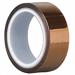 Film Tape, 3/4 In x 5 yd., Amber