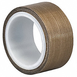 Cloth Tape, 1-1/2 In x 5 yd, 5 mil, Tan