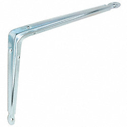 Shelf Bracket, Zinc, 14x12 In