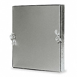 Duct Access Door, 9-11/16 In., Square