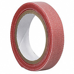 Reclosable Fastener, 1 In x 20 ft, Red