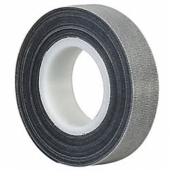 Reclosable Fastener, 1/2 In x 75 ft, Black