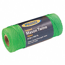 MASON TWINE 1090 FT L NYLON GREEN