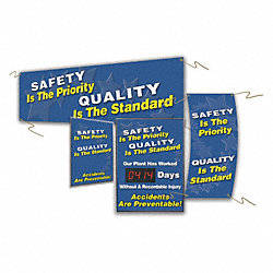 Quality Control Sign, 28 x 20In, AL, ENG