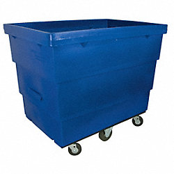 Recycle Cart, 12.6 cu ft, Blue