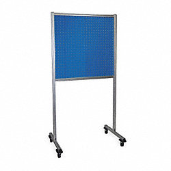 Toolboard Frame, SingleSided, 2 Panel, Blue