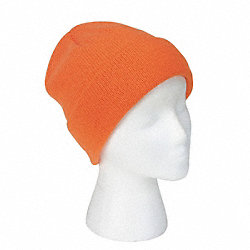 Winter Hat, Orange, Universal