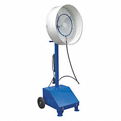 Misting Air Circ, 24 In, 6277 cfm, 115V
