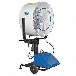 Misting Air Circ, 36 In, 8752 cfm, 115V
