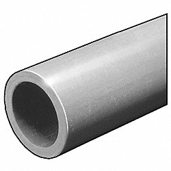 RD Tube, ISOFR, Gry, 2 ODx1/4 In Wall, 10 Ft