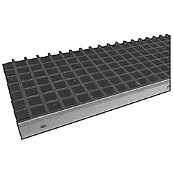 Stair Tread, Mld, Poly, 1 1/2x12 In, 4Ft, Ylw